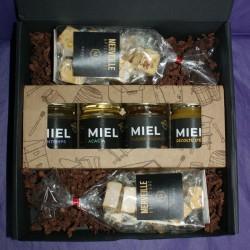 Coffret Cadeau Miels - Nougat