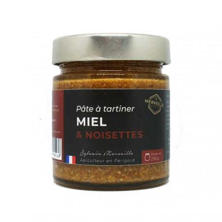 Pâte à tartiner Miel et Noisettes - 250g