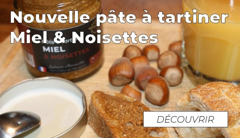Pâte à tartiner Miel & Noisettes