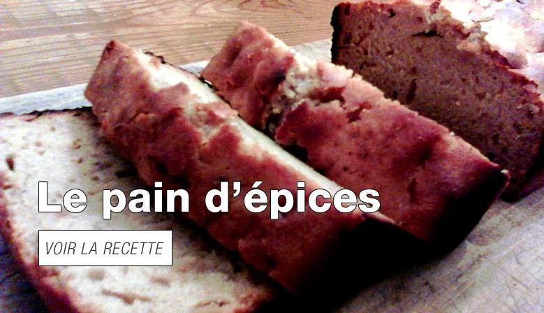Le pain d'épices extra-moelleux
